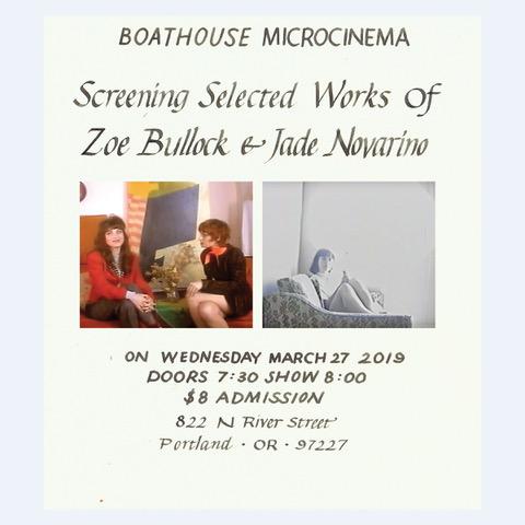 Zoe Bullock and Jade Novarino poster