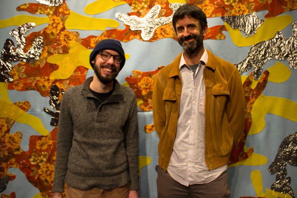 Chris Freeman and Matt McCormick in 2016, photo by Erica Thomas